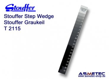 Stouffer Graukeil T2115, 21 Stufen, Inkrement 0,15