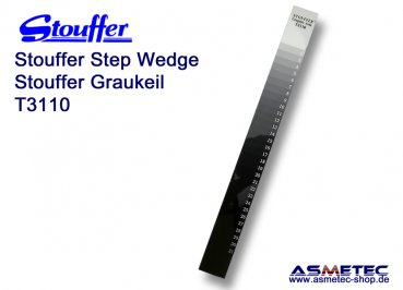 Stouffer Graukeil T3110, 31 Stufen, Inkrement 0,10