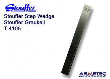 Stouffer Graukeil T4105, 41 Stufen, Inkrement 0,05
