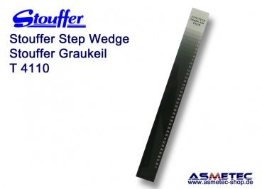 Stouffer Graukeil T4110, 41 Stufen, Inkrement 0,10
