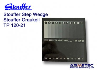 Stouffer Graukeil TP120-21, 21 Stufen, Inkrement 0,15
