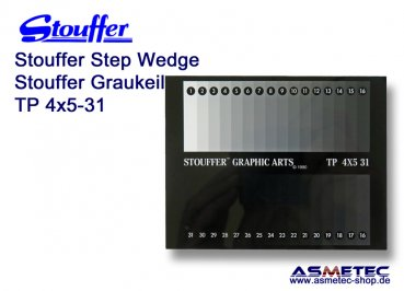 Stouffer Graukeil TP4x5-31, 31 Stufen, Inkrement 0,10